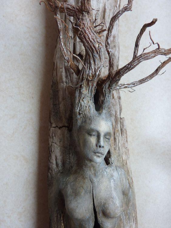 driftwood woman